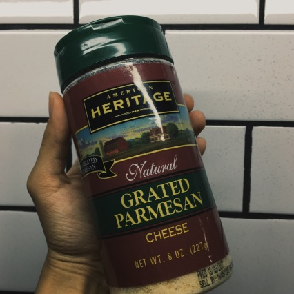 American Heritage: Natural Grated Parmesan Cheese