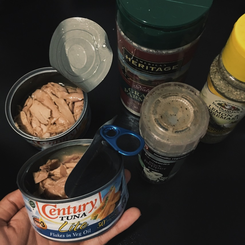 Canned Tuna and other ingredients
